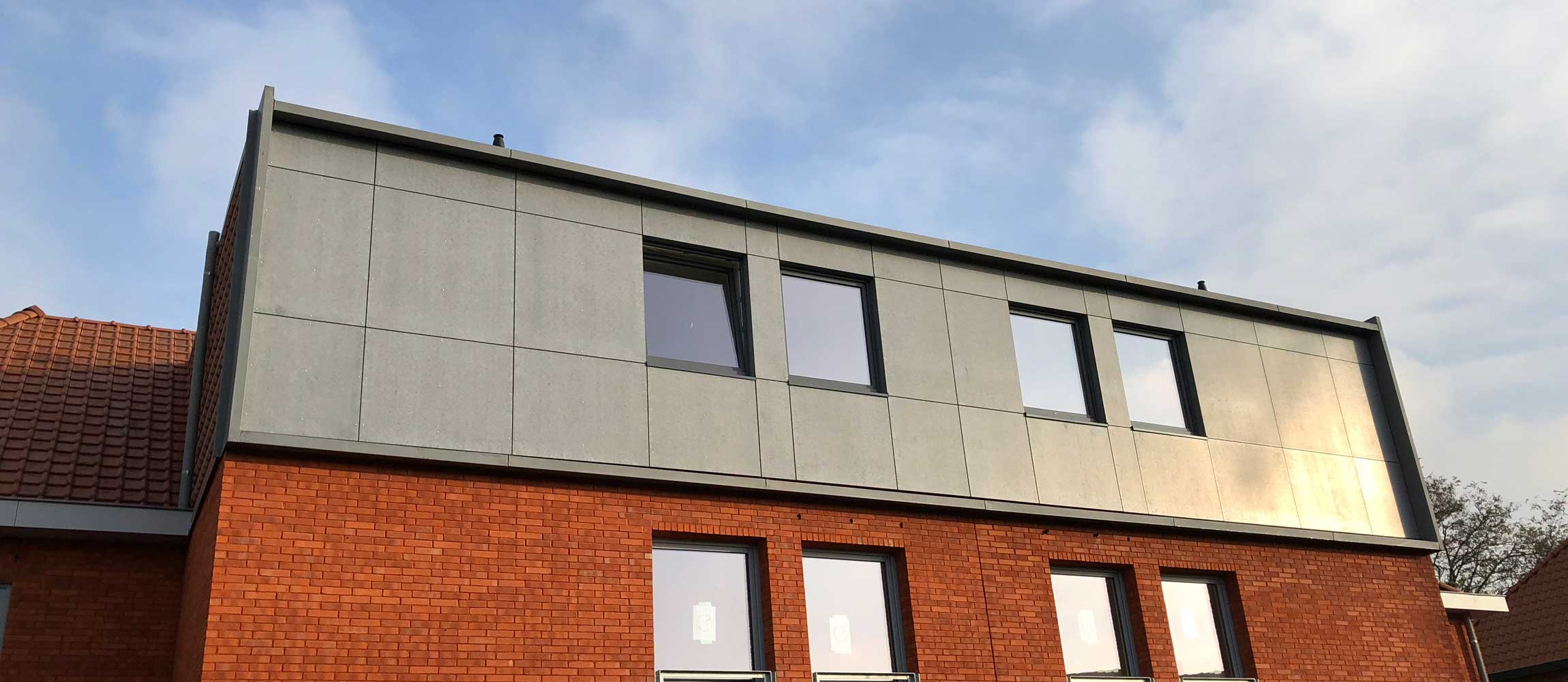 Noviclad facade sidings panels